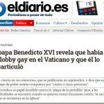 La hipocresía y vender libros: la iglesia de Ratzinger