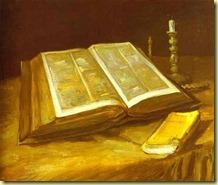 Van Gogh_Biblia abierta,1885