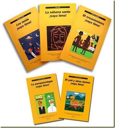 tres libros de la colección