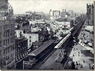 Herald Sq., 1888. 6th Ave. El.